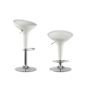 Compare & Buy Adjustable Height Swivel Bar Stool (Set of 2) by Attraction Design Home Reviews (2019) & Buyer's Guide