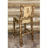 Tustin Solid Wood 30 Bar Stool by Loon Peak®