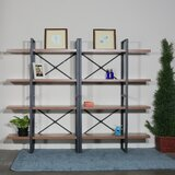 Debora 56.69 H x 70.86 W Metal Etagere Bookcase by 17 Stories