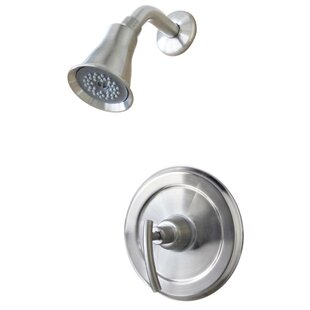 Ultra Faucets Contemporary Pressure Balance Tub and Shower Faucet with Single Lever Handle