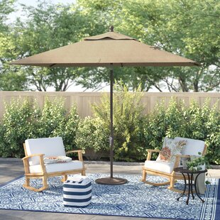 Cooper 10' X 6.5' Rectangular Market Umbrella by Sol 72 Outdoor