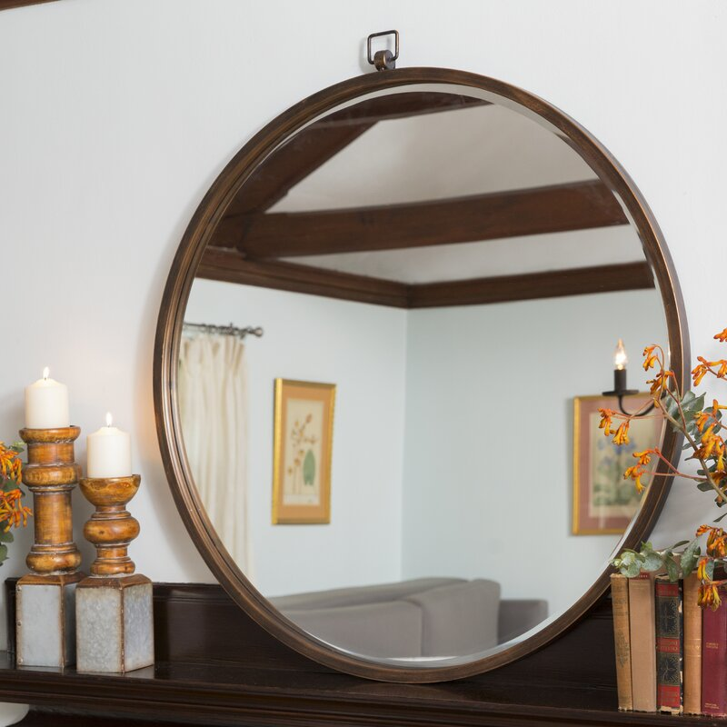 Langley Street Minerva Accent Mirror & Reviews