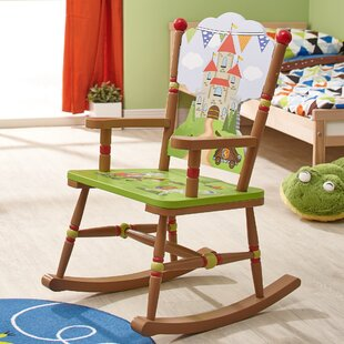 Knights & Dragons Kids Rocking Chair by Fantasy Fields