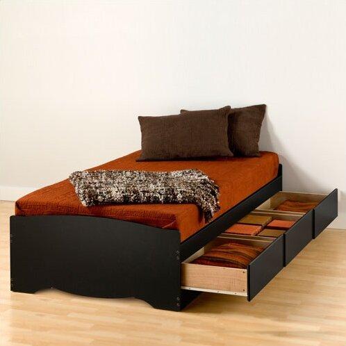 Harriet Bee Nolanville Extra Long Twin Platform Bed With Storage