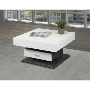 Brassex Rotating Lift Top Coffee Table