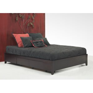 Keevan Traditional Storage Platform Bed by Latitude Run