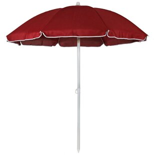 Winston Porter Kerner Steel 5.5' Beach Umbrella