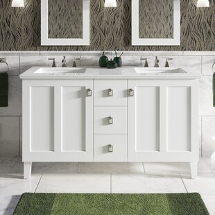 Poplin? 62 Double Bathroom Vanity Set by Kohler
