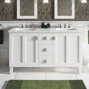 Poplin 62 Double Bathroom Vanity Set By Kohler