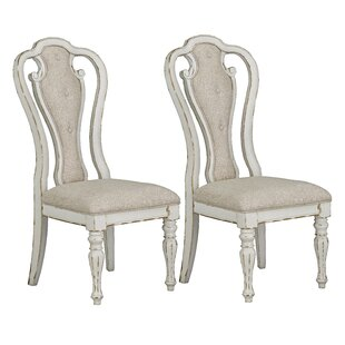 Laramie Upholstered Dining Chair (Set of 2) Ophelia & Co.