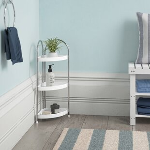 3 Tier Corner Bathroom Shelf Unit By Wayfair Basics