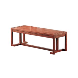 Shrutika Long Wood Bench by Bayou Breeze