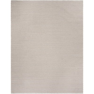 Dash and Albert Rugs Fair Isle French Hand-Woven Cotton Blue/Ivory ...