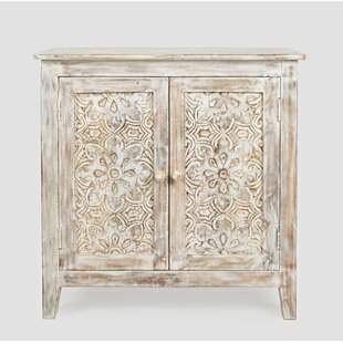 Hartnett 2 Door Accent Chest by Bungalow Rose