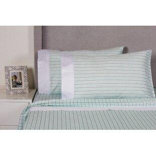 Eider & Ivory Carlson Stripe 400 Thread Count Cotton Sheet Set