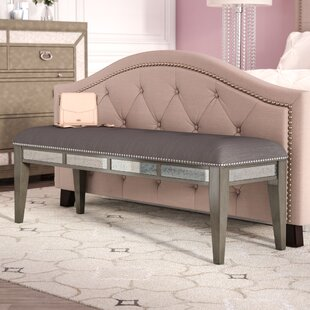 Roxie Wood Bench by Willa Arlo Interiors