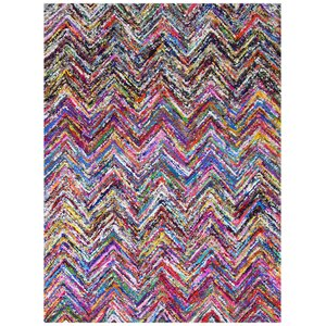 Chindi Hand Tufted Multi Color Area Rug