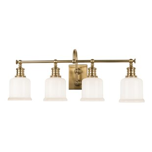 Beachcrest Home Mullings 4-Light Vanity Light