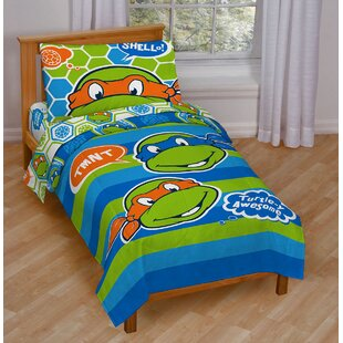 Exceptionnel Teenage Mutant Ninja Turtles Awesome Toddler Bedding Set