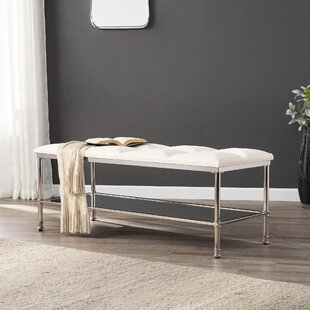 Annika Metal Storage Bench