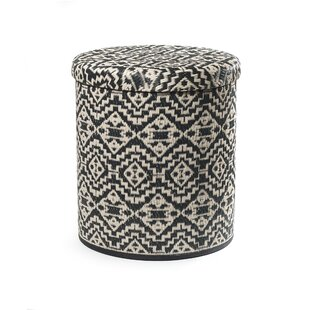 Beachmere Storage Ottoman by Bungalow Rose