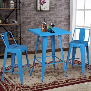 Pub Tables Bistro Sets Youll Love Wayfair - Bistro table sets for kitchen 16 excellent small bistro table set for