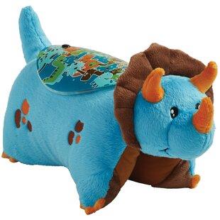 Reviews Sleeptime Lites Blue Dinosaur Plush Night Light By Pillow Pets