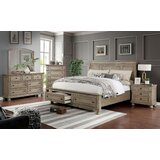 Leiston Sleigh Solid Wood Configurable Bedroom Set by Canora Grey