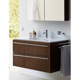 Price Check 22 Wall-Mounted Single Bathroom Vanity ByDuravit