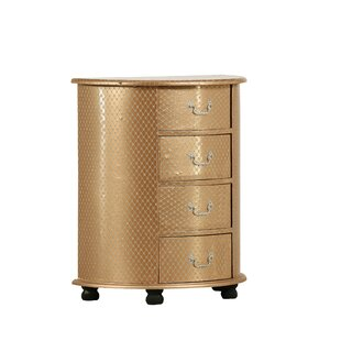 Carlisle 4 Drawer Chest By Rosdorf Park