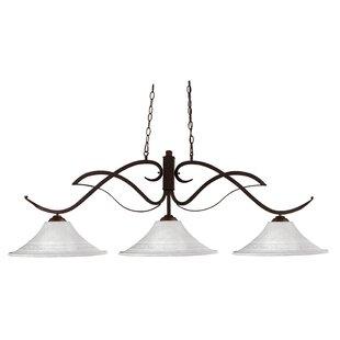 Fleur De Lis Living Billingham 3-Light Pool Table Lights Pendant