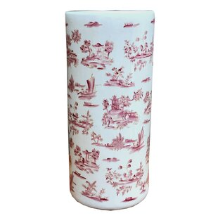 Molyneux Crackle Umbrella Stand By Lily Manor