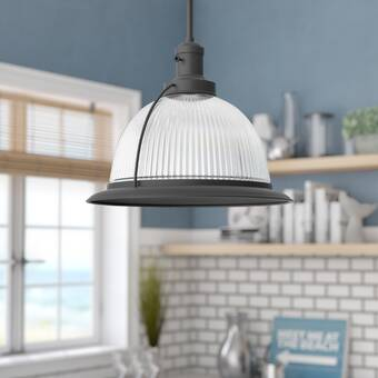 Orren Ellis Stanwood 1 Light Single Drum Pendant Wayfair