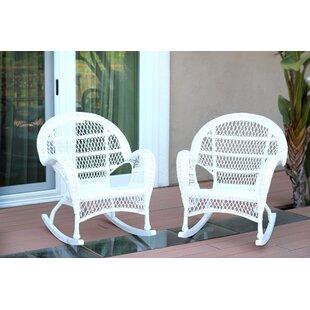 Wicker Rocker Chair (Set of 2) Jeco Inc.