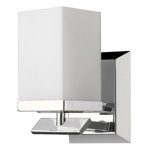 Ebern Designs Mcgarvey 1-Light Bath Sconce