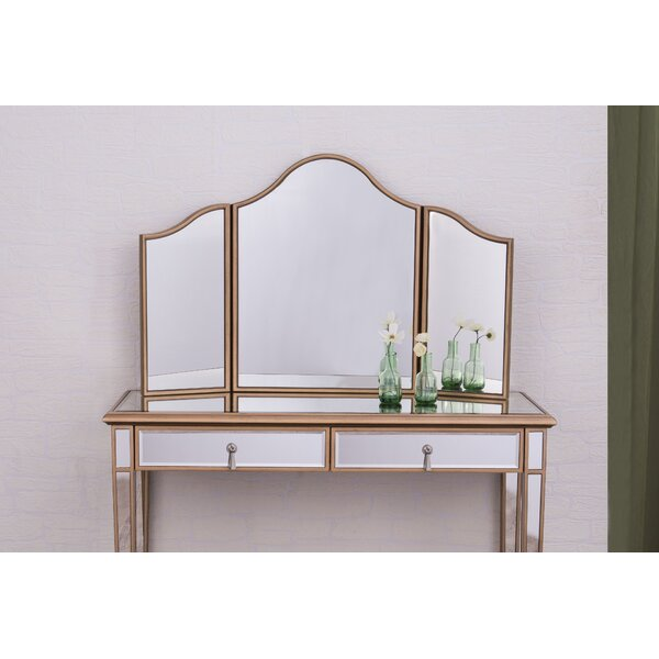 Rosdorf Park Emerita Arched Wall Mirror & Reviews by Rosdorf Park