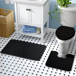3 Piece Bath Rug Set