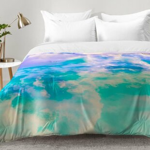 East Urban Home Painted Clouds Comforter Set