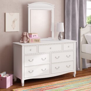 Lilia 7 Drawer Dresser with Mirror
