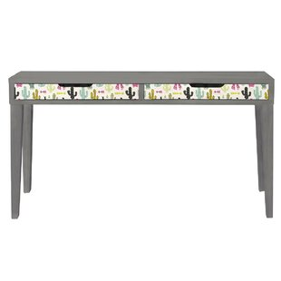 Cactus 115cm W Writing Desk By Ebern Designs