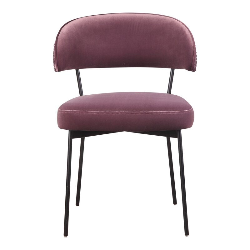 Everly Quinn Alta Upholstered Side Chair (Set of 2)