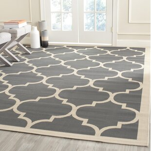 Isaac Anthracite/Beige Indoor/Outdoor Area Rug & Waterproof Rugs | Wayfair.co.uk