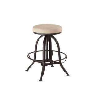Clapper Adjustable Height Bar Stool Gracie Oaks