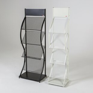 Free Standing Magazine Rack By Symple Stuff