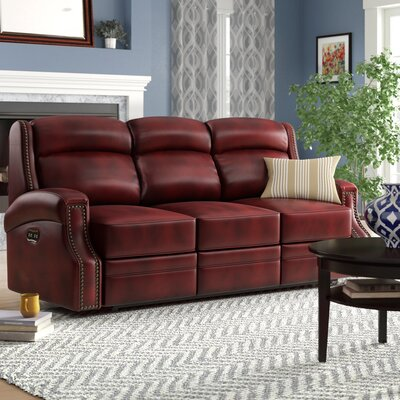 Hooker Furniture Carlisle Leather Sofa