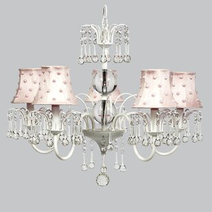 Jubilee Collection Wistful 5-Light Shaded Chandelier