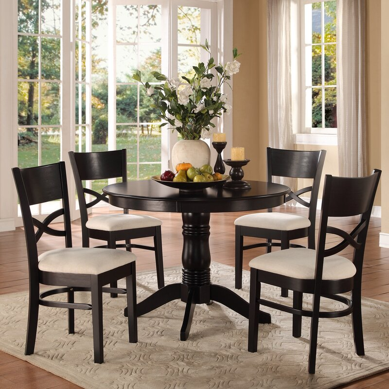 Darby Home Co Kasey 5 Piece Dining Set & Reviews   Wayfair