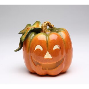 Town Pumpkin Tealight Holder
