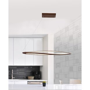 Contempo Lights Inc Lattice 3-Light LED Novelty Chandelier