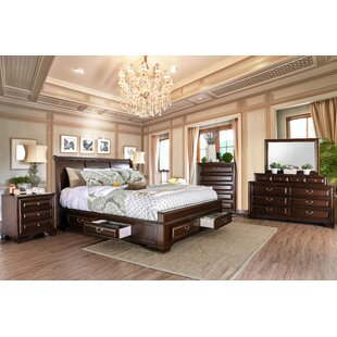 Rector Sleigh Configurable Bedroom Set by Charlton Home